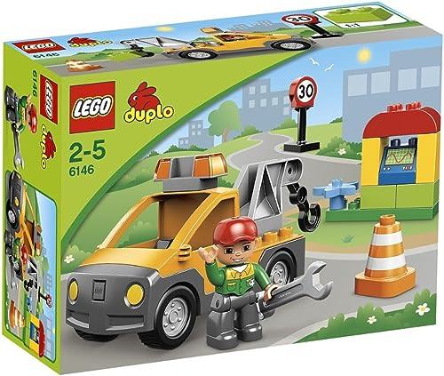 barato LEGO Duplo Duplo Duplo 6146 - Grúa de Asistencia  Tienda 2018