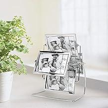 Snygg bordsdekoration, romantisk fotoram, stark metallkänsla, heminredning bröllopsfotografering för kontor för studiodeko...