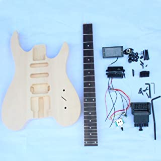Headless electric guitar DIY kit with all parts