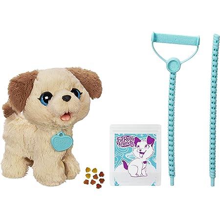 Hasbro FurReal - Pax, Il Cagnolino Che Fa i Bisognini, C2178EU4, Bianco e Marrone per Bambini da 4 Anni in su