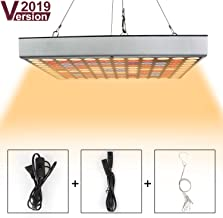 Grow Light for Indoor Plants,Sunlike Full Spectrum Plant Light with IR & UV LED for Seedlings/Succulents,Multiple Panels Can Be Connected (Upgraded)