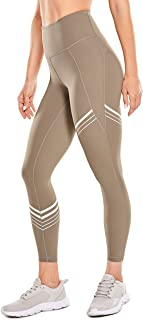 CRZ YOGA Women's High Waisted Yoga Capris Buttery Soft Yoga Pants Workout Cropped Leggings Naked Feeling -23 Inches