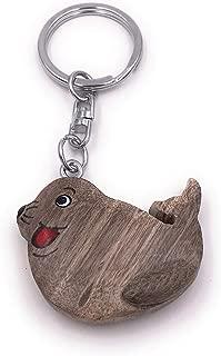 Schlüsselanhänger Tier aus Plüsch Rucksackanhänger Säugetier Taschenanhänger