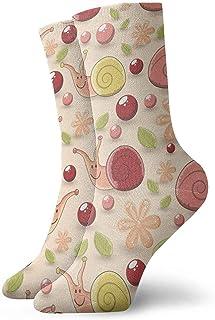 okstore1988, Calcetines de algodón casuales sin costuras para niños Calcetines deportivos unisex.