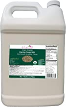 Verdana Organic Cold Pressed Unrefined Canadian Hemp Seed Oil – Bulk 1 Gallon – Liquid Extract -Non-GMO - Kosher Food Grad...