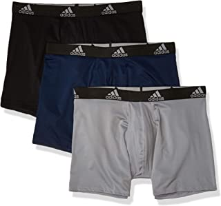 adidas Men's Sport Performance Climalite Boxer Briefs (3 Pack)