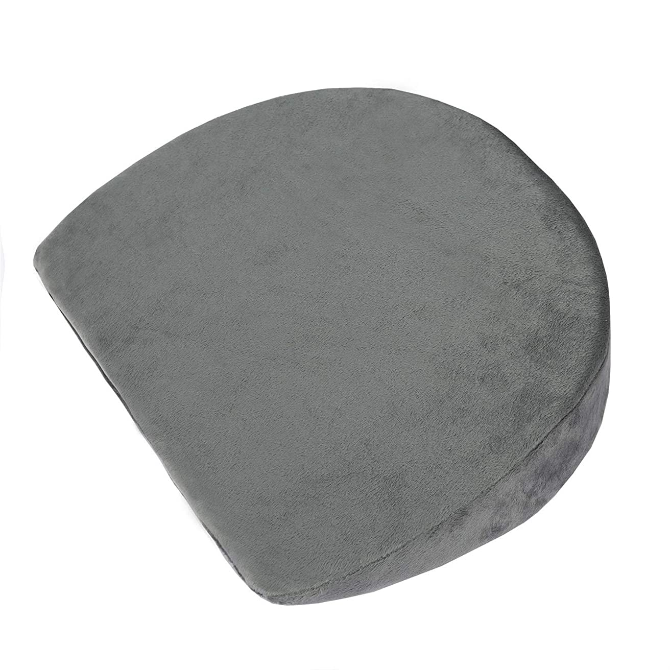 腐敗フェザー修羅場妊娠中の女性枕ウエストサイドスリープ多機能背もたれ枕ベビーアンチスピッティングミルク枕リムーバブルと洗える (Color : Dark gray)