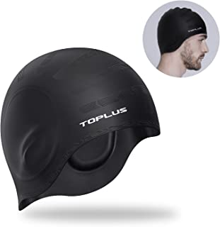 TOPLUS Swim Cap Women, Swimming Cap Waterproof Unisex...