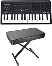 M-Audio Axiom AIR Mini 32 MIDI 32-Key Keyboard Controller w/Pads+Padded Bench