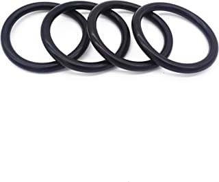 Vautoparts Rubber Bands O Rings - Universal Bumper Fender Quick Release O Rings Fasteners Gaskets Grommets, Pack of 4
