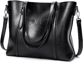 Women Tote Bag Soft PU Leather Shoulder Bags Large Capacity Shopper Handbag