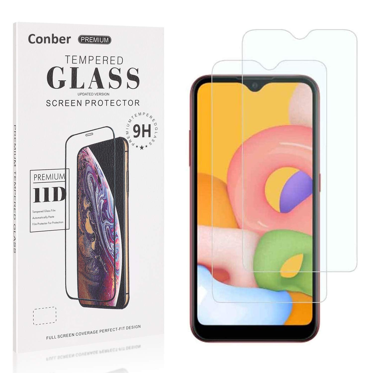 Conber Screen Protector for Samsung Galaxy Limited price sale Temp ...