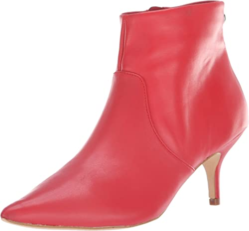 Steve Madden Wohommes Rome Ankle démarrage, rouge Leather, 9.5 M US