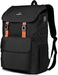 17 Inch Laptop Backpack, Large School Backpacks Waterproof College Bookbag for Men Women, Lightweight Travel Computer Bag with USB Charging Port, Durable Outdoor Rucksack fits 17 Inch Laptop