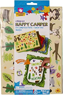 Creative Hands Collage Kit One Happy Camper Arts and Craft