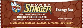 Honey Stinger Energy Bar, Rocket Chocolate, Sports Nutrition, 1.75 Ounce (Pack of 15)