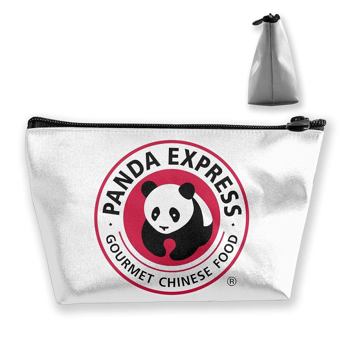 Trapezoid Toiletry Pouch Portable Travel Bag Panda Express Makeup Bag