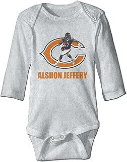 DW Infant Alshon Jeffery Long Sleeve Climb Clothes Romper Navy