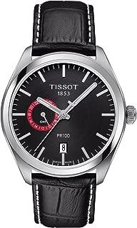 Tissot T101.452.16.051.00 Men's Watch PR 100 Gent Dualtime Black 39mm Stainless Steel