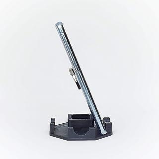 Suporte de Mesa ou Home Office para Celular ou Tablet serve em todas as marcas - Cor Vermelha