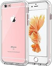 JETech Cover per iPhone 6s e iPhone 6, Custodia con Paraurti Assorbimento degli Urti e Anti-Graffio, HD Chiaro