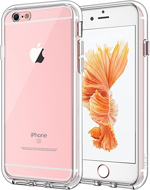 JETech Funda Compatible iPhone 6s Plus y iPhone 6 Plus Anti-Choques y Anti-Arañazos HD Clara