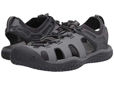 KEEN Solr Sandal (Steel Grey/Magnet) Men