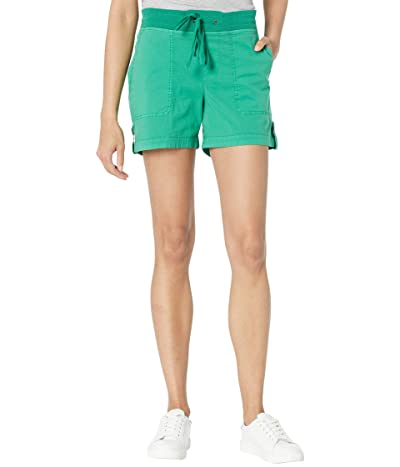 XCVI Wearables Bernie Stretch Poplin Shorts Women