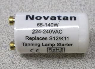 Tanning Bed Starter 65 - 140 watt K11 S12 ONE (1) REPLACES Philips or Cosmedico