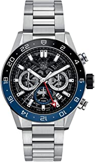 タグホイヤー カレラ ホイヤー02 クロノグラフ 腕時計 メンズ TAG Heuer CBG2A1Z.BA0658[並行輸入品]