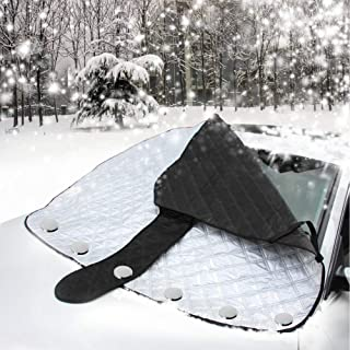 Pure-Love Car Windshield Snow Ice Cover Windproof with Magnet Keep Ice Snow Frost Off