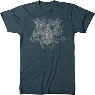 E. Pluribus Unum American Eagle Men's Modern Fit Tri-Blend T-Shirt