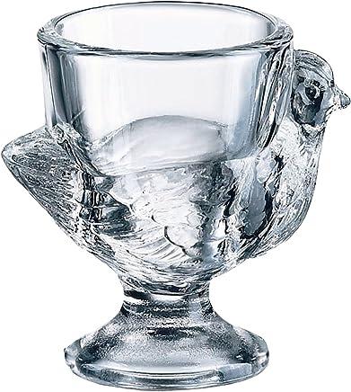 BHL Glass Hen Eierbecher, transparent, 3 Stück - preisvergleich