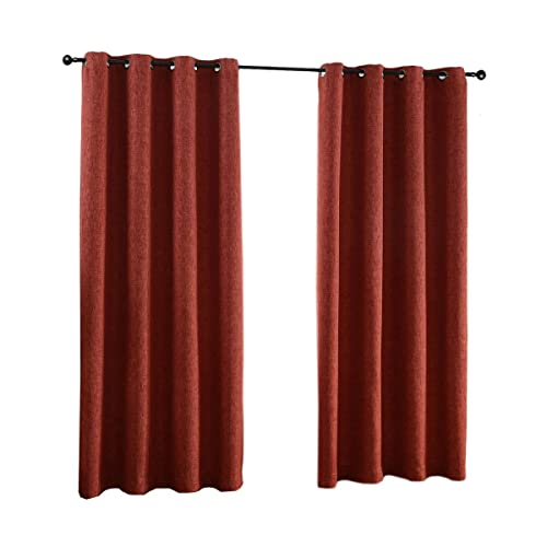 Rust Color Living Room Curtains Amazoncom