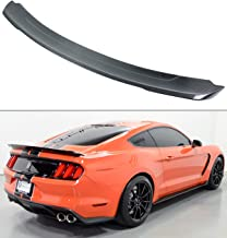 Cuztom Tuning Fits for 2015-2019 Ford Mustang S550 GT Track Pack Style Carbon Fiber Trunk Spoiler Wing