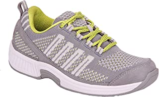Orthofeet Bunions Plantar Fasciitis Relief Arch Support Orthopedic Sneakers Wide Athletic Shoes Coral
