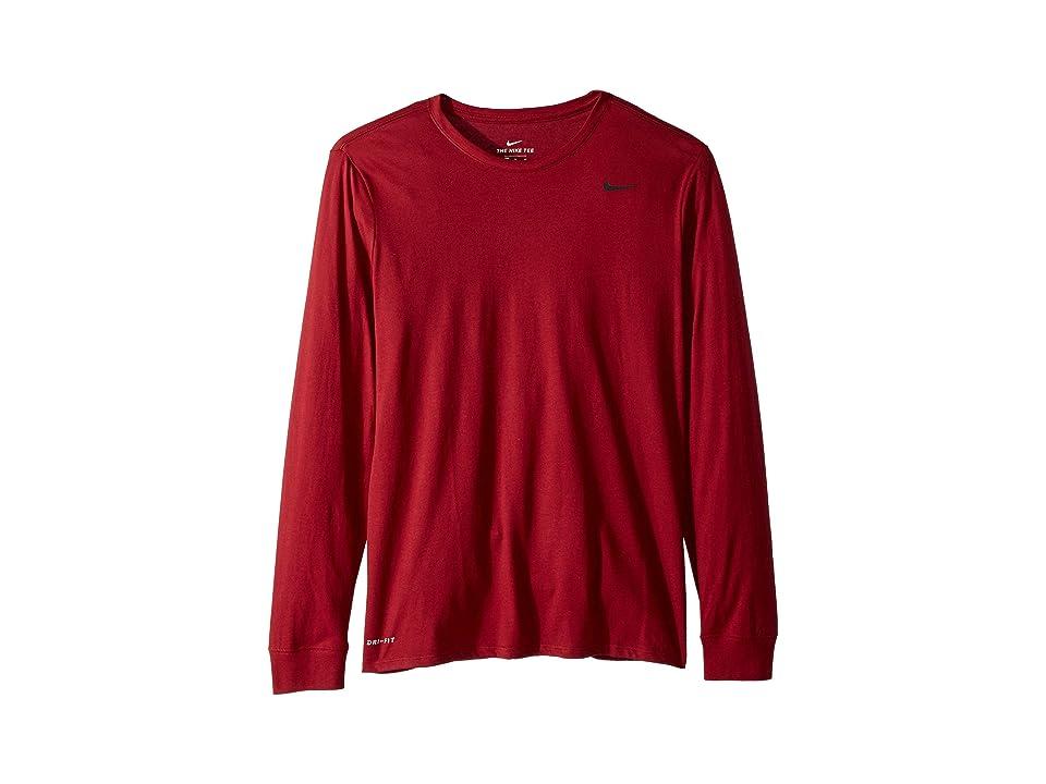 Nike Dry Training Long Sleeve T-Shirt (Team Red) Men