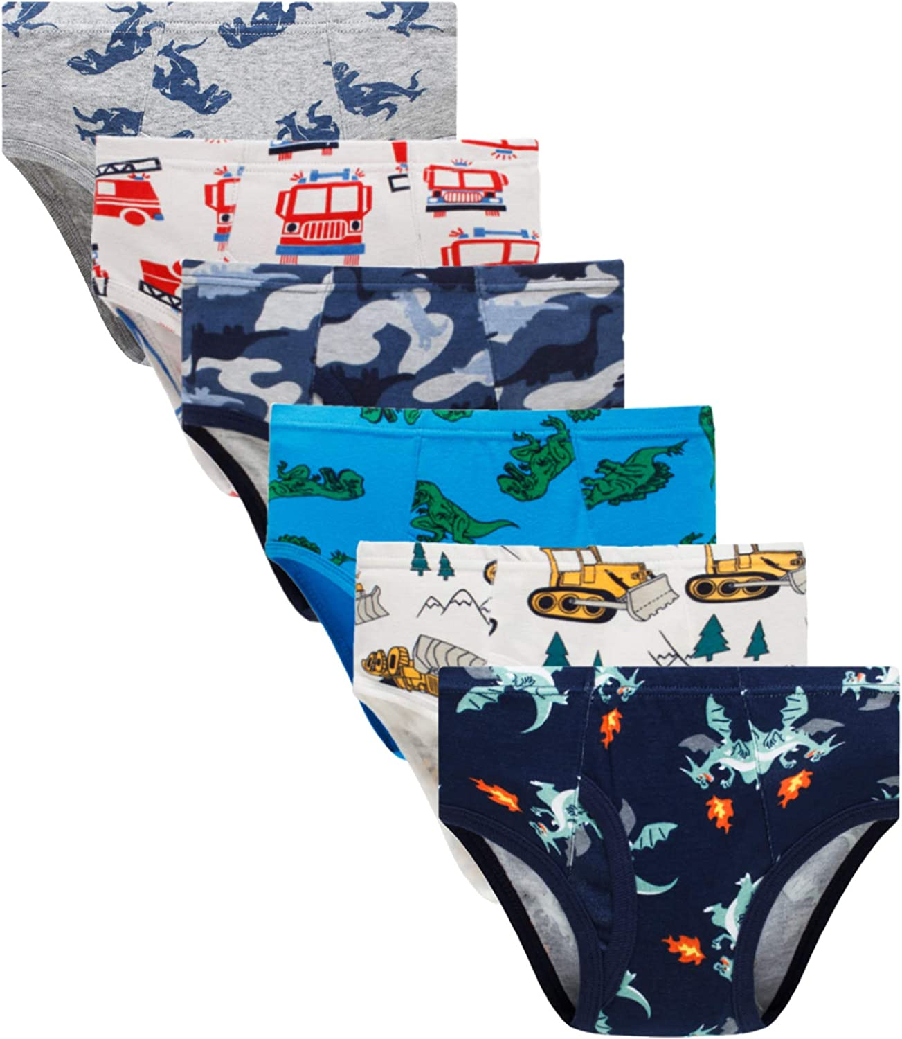 Little Boys Briefs Limited time for free shipping Dinosaur Shark Space Toddler Truck Baby Fees free Kids