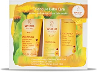Weleda Calendula Baby Care Mini Pack 3 Pieces, 3 Count