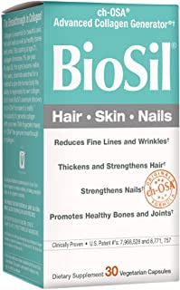 BioSil by Natural Factors ch-OSA Advanced Collagen Generator - 30 Vegetarian Capsules