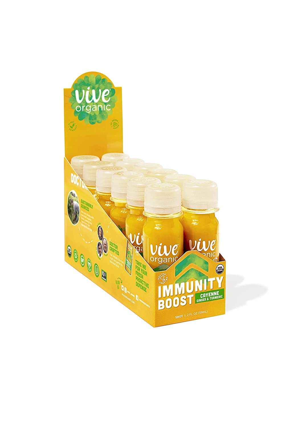 Vive Spring new work Organic Immunity Boost Cayenne 2 count Popular products oz We 12