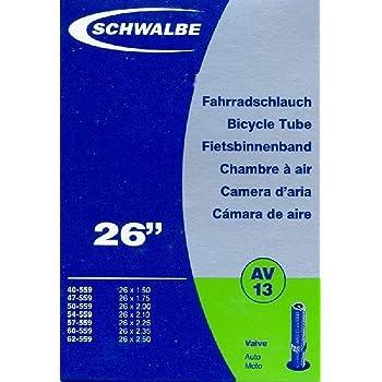 2,70 Zoll Fahrradschlauch 26 x 2,30 60-559 Autoventil AV