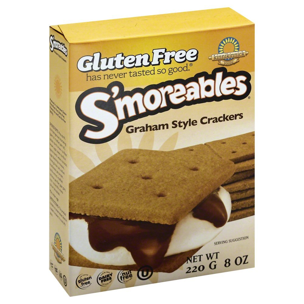 Kinnikinnick S'moreables Graham New sales Style Crackers Ranking integrated 1st place 8 Each Pa -- oz