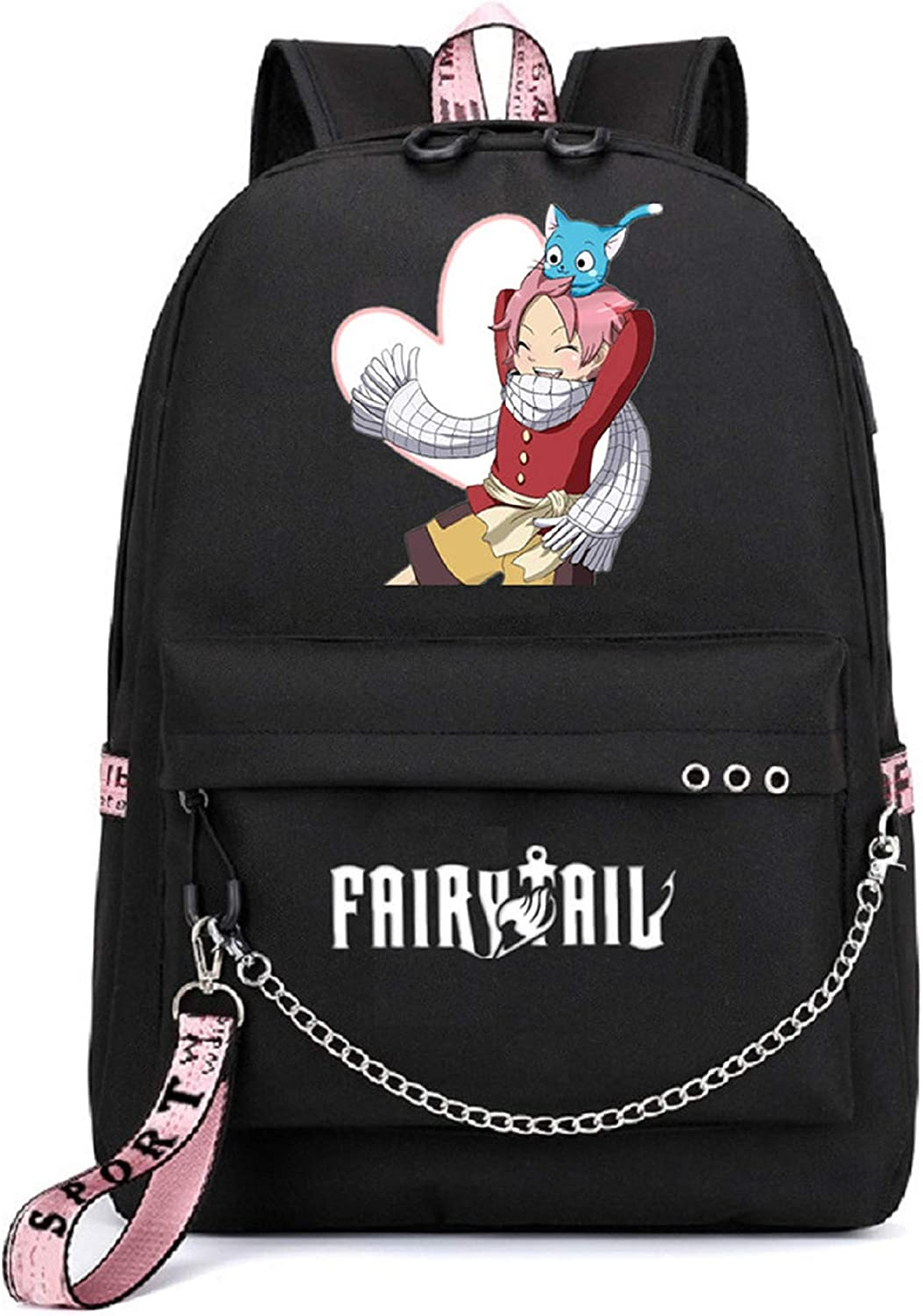 YOYOSHome Anime Fairy Tail Cosplay Bookbag ! Super beauty product restock quality top! Daypack Backpack Scho OFFicial store