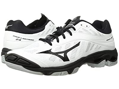 Mizuno Wave Lightning Z4 (White/Black) Women