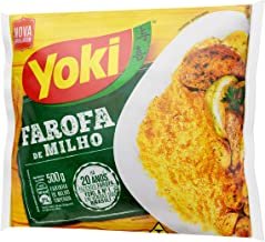 Yoki Gewürztes Maismehl – 500 g   Farofa Pronta de Milho Yoki – 01 Stück