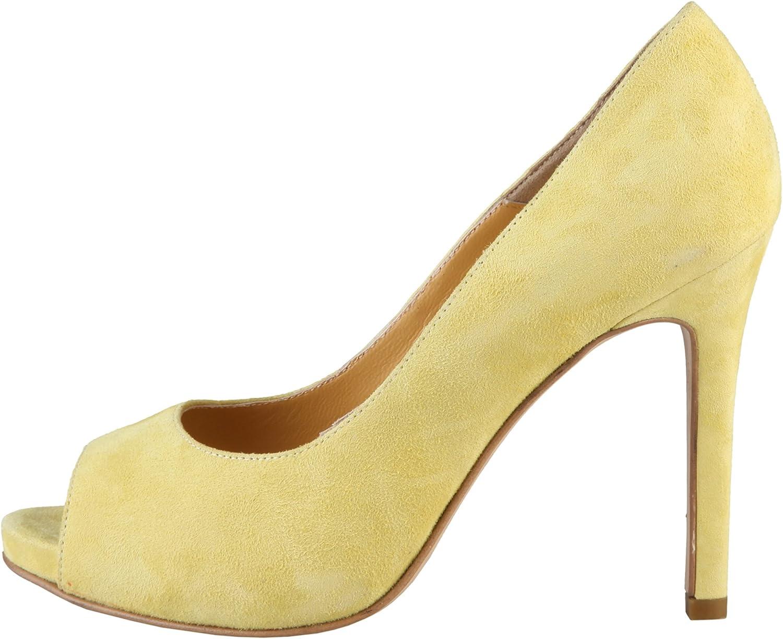 Made in Italia Women Yellow Erminia Pumps & Heels
