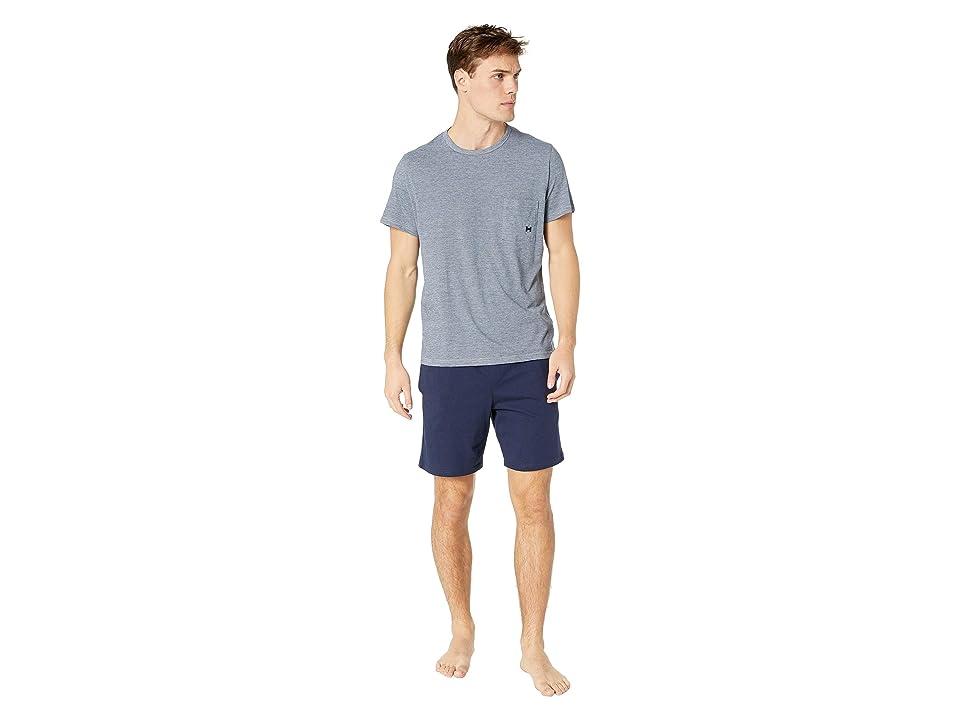 HOM Comfort Short Sleepwear (Navy) Men