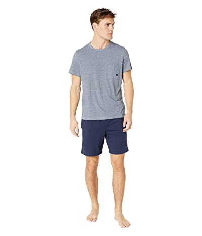 HOM Comfort Short Sleepwear (Navy) Men