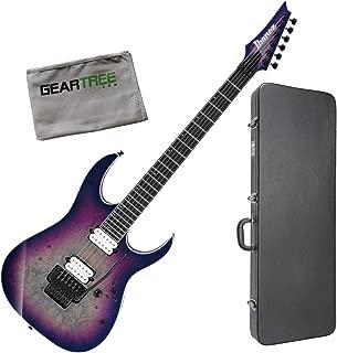 Ibanez RGIX6DLB SNB RG Iron Label Supernova Burst Electric Guitar w/Case and Clo